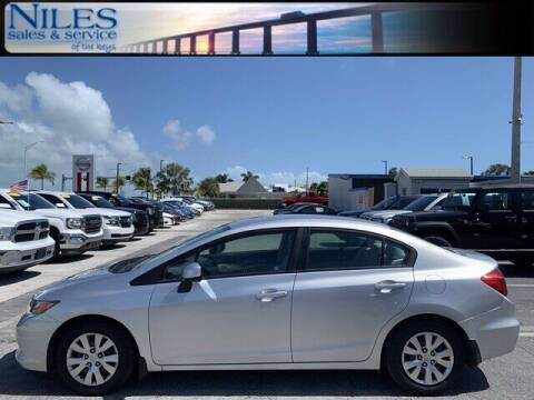 2012 Honda Civic for sale at Niles Sales and Service in Key West FL