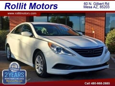 2014 Hyundai Sonata for sale at Rollit Motors in Mesa AZ