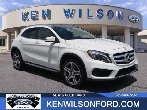 2015 Mercedes-Benz GLA for sale at Ken Wilson Ford in Canton NC