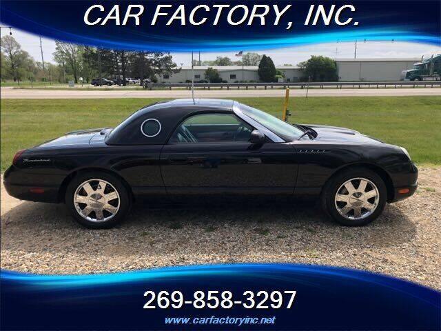2002 Ford Thunderbird for sale at Car Factory Inc. in Three Rivers MI