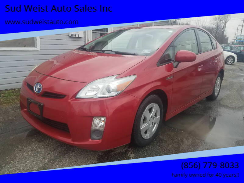 2011 Toyota Prius for sale at Sud Weist Auto Sales Inc in Maple Shade NJ