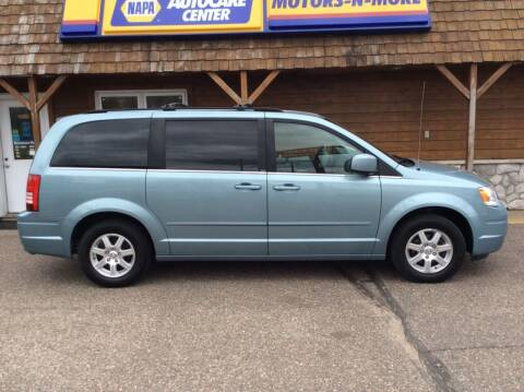 2008 Chrysler Town and Country for sale at MOTORS N MORE in Brainerd MN