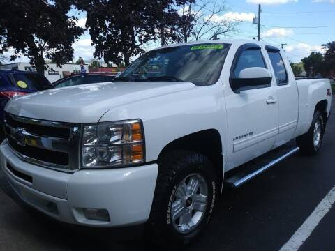 2010 Chevrolet Silverado 1500 for sale at Oak Hill Auto Sales of Wooster, LLC in Wooster OH