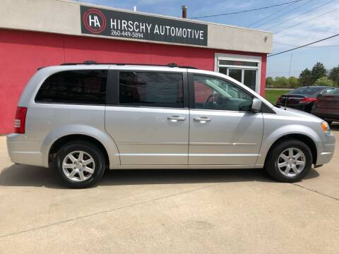2010 Chrysler Town and Country for sale at Hirschy Automotive in Fort Wayne IN