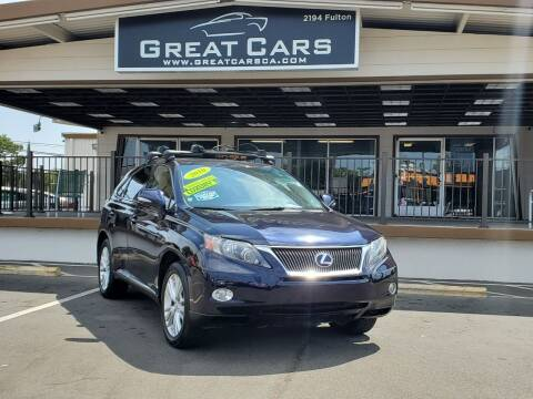 2010 Lexus RX 450h for sale at Great Cars in Sacramento CA