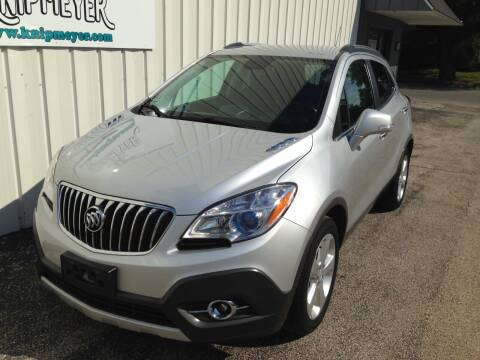 2015 Buick Encore for sale at Team Knipmeyer in Beardstown IL