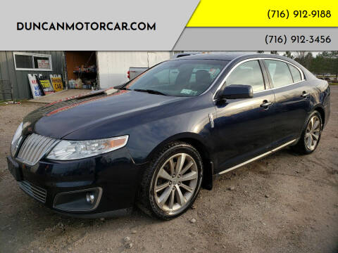 2009 Lincoln MKS for sale at DuncanMotorcar.com in Buffalo NY