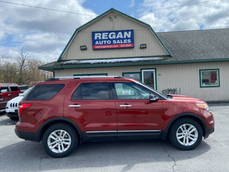 2014 Ford Explorer for sale at Mark Regan Auto Sales in Oswego NY