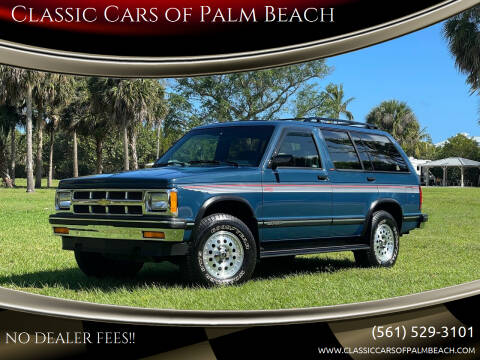 1994 Chevrolet S-10 Blazer for sale at Classic Cars of Palm Beach in Jupiter FL