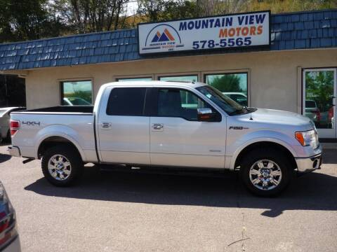 2012 Ford F-150 for sale at Mountain View Motors Inc in Colorado Springs CO