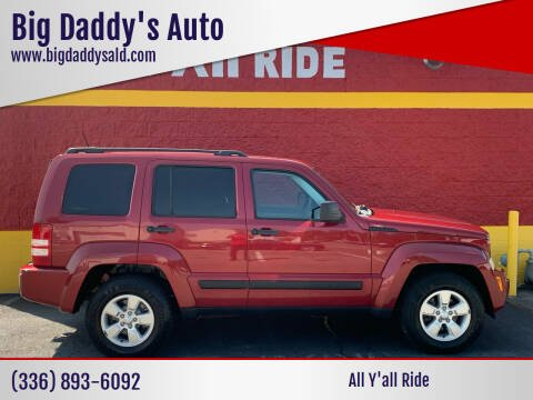 2012 Jeep Liberty for sale at Big Daddy's Auto in Winston-Salem NC