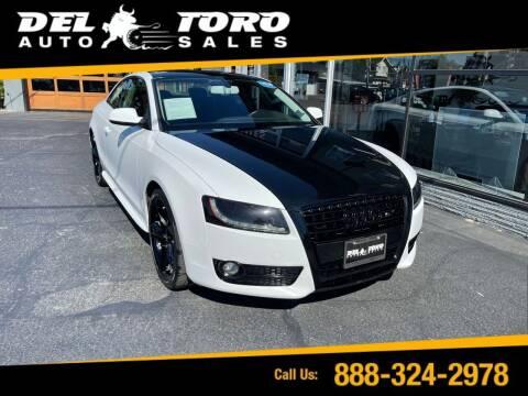 2012 Audi A5 for sale at DEL TORO AUTO SALES in Auburn WA
