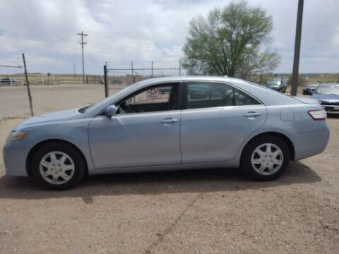2010 Toyota Camry Hybrid for sale at PYRAMID MOTORS - Pueblo Lot in Pueblo CO