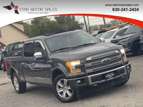 2015 Ford F-150 for sale at Star Motor Sales in Downers Grove IL