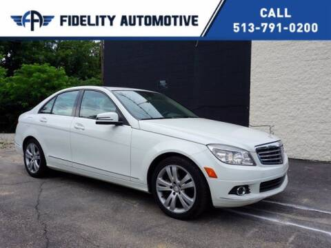 2010 Mercedes-Benz C-Class for sale at Fidelity Automotive LLC in Cincinnati OH