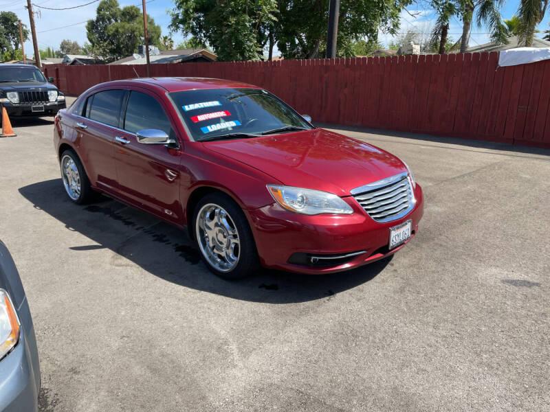 2011 Chrysler 200 for sale at Mega Motors Inc. in Stockton CA