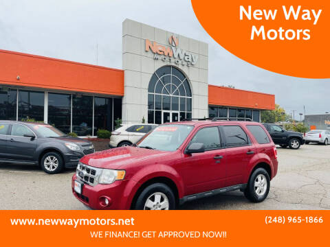 2011 Ford Escape for sale at New Way Motors in Ferndale MI