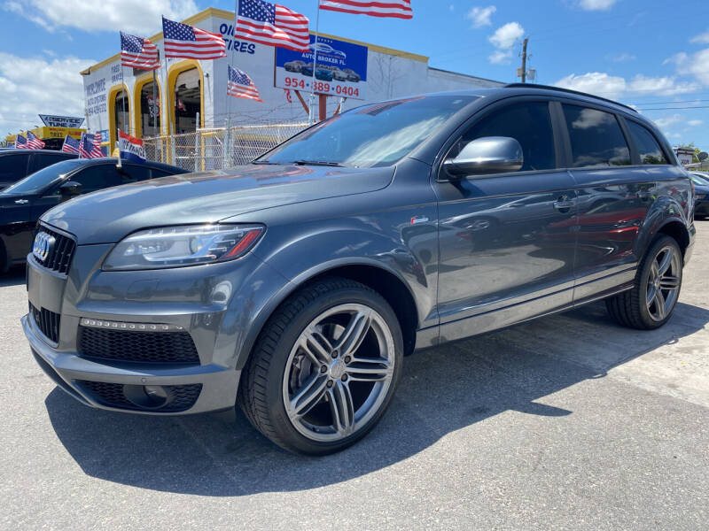 2014 Audi Q7 for sale at INTERNATIONAL AUTO BROKERS INC in Hollywood FL