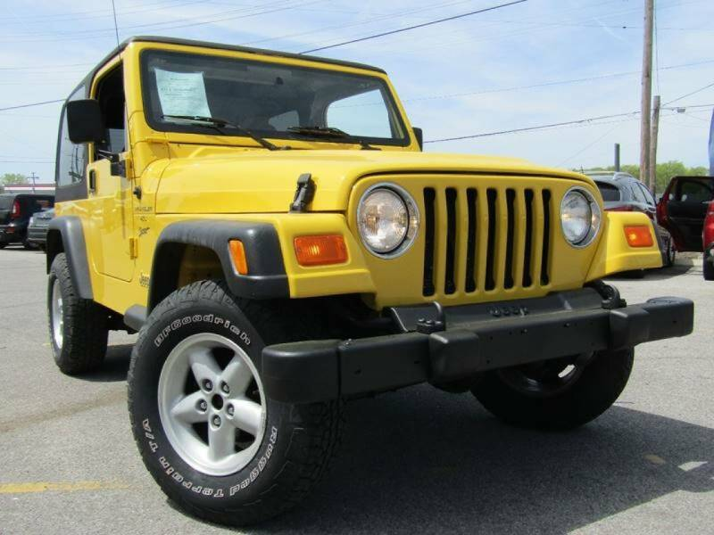 2001 Jeep Wrangler for sale at A & A IMPORTS OF TN in Madison TN