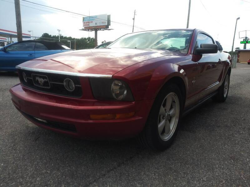 2007 Ford Mustang for sale at Best Buy Autos in Mobile AL