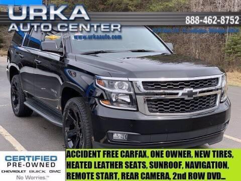 2018 Chevrolet Tahoe for sale at Urka Auto Center in Ludington MI