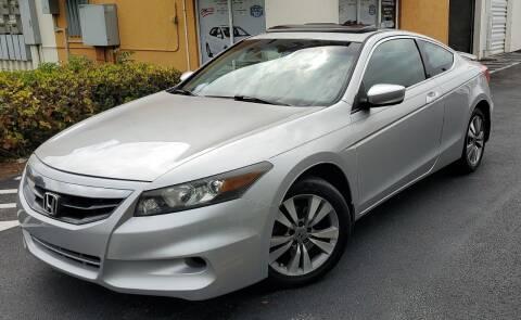 2012 Honda Accord for sale at POLLO AUTO SOLUTIONS in Miami FL