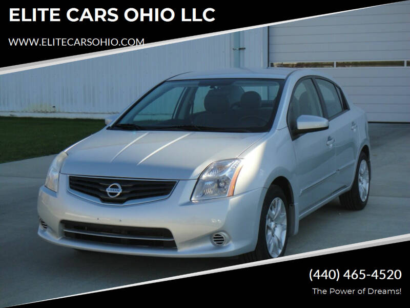 2012 Nissan Sentra for sale at ELITE CARS OHIO LLC in Solon OH