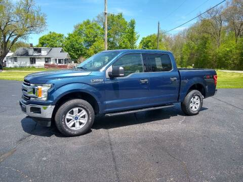 2018 Ford F-150 for sale at Depue Auto Sales Inc in Paw Paw MI