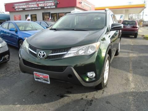 2013 Toyota RAV4 for sale at International Motors in Laurel MD