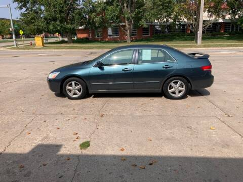 2004 Honda Accord for sale at Mulder Auto Tire and Lube in Orange City IA
