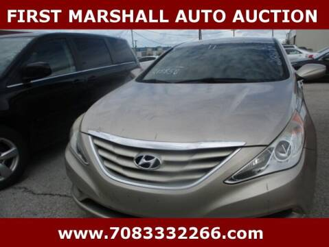 2011 Hyundai Sonata for sale at First Marshall Auto Auction in Harvey IL