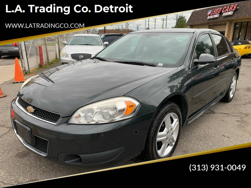 2013 Chevrolet Impala for sale at L.A. Trading Co. Woodhaven - L.A. Trading Co. Detroit in Detroit MI