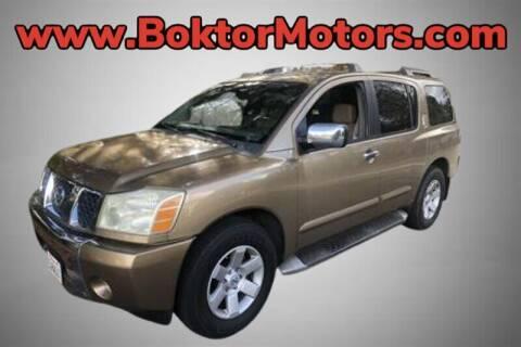 2004 Nissan Armada for sale at Boktor Motors in North Hollywood CA