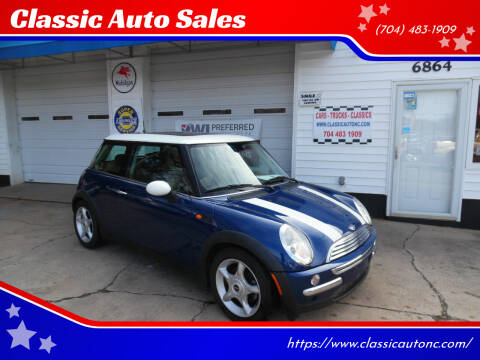 2004 MINI Cooper for sale at Classic Auto Sales in Maiden NC