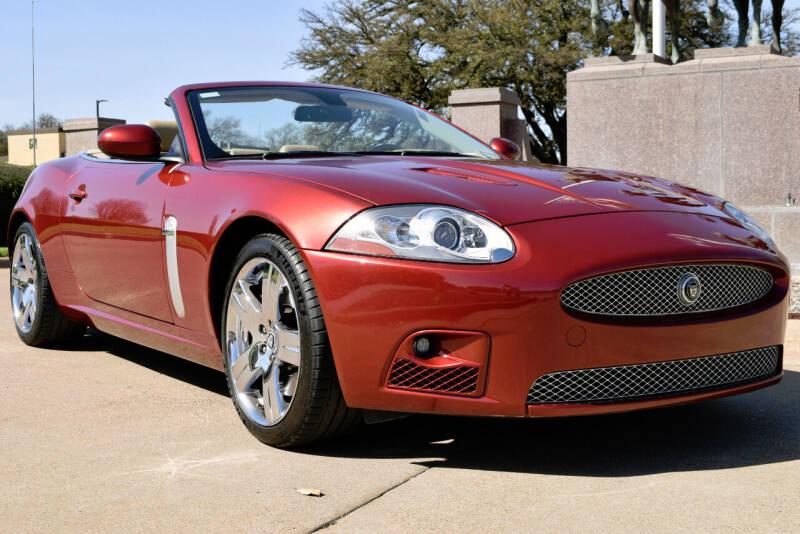 2007 Jaguar XK-Series for sale at European Motor Cars LTD in Fort Worth TX