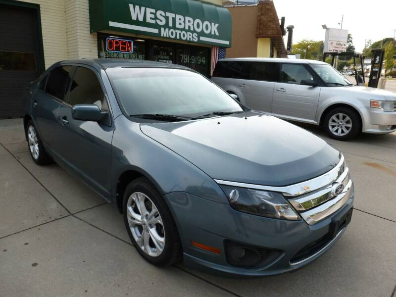 2012 Ford Fusion for sale at Westbrook Motors in Grand Rapids MI