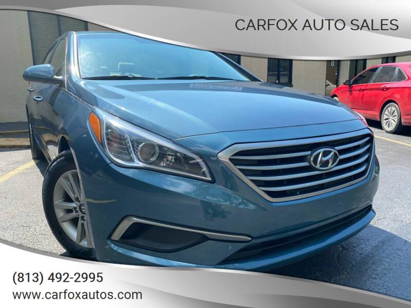 2017 Hyundai Sonata for sale at Carfox Auto Sales in Tampa FL