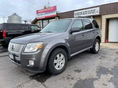 2009 Mercury Mariner for sale at WINDOM AUTO OUTLET LLC in Windom MN