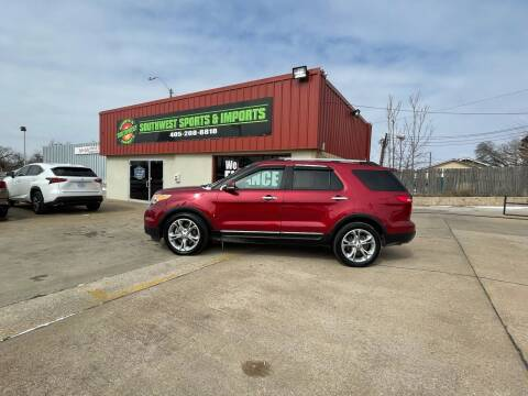 2013 Ford Explorer for sale at Southwest Sports & Imports in Oklahoma City OK