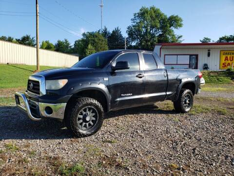 2008 Toyota Tundra for sale at Greenwood Auto Sales in Greenwood AR