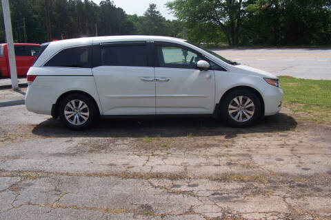 2014 Honda Odyssey for sale at Blackwood's Auto Sales in Union SC