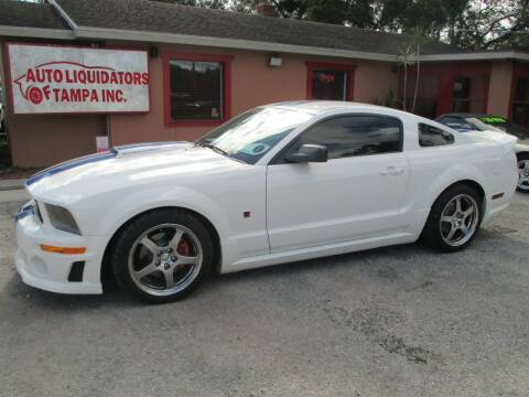 2006 Ford Mustang for sale at Auto Liquidators of Tampa in Tampa FL