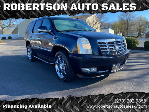 2007 Cadillac Escalade for sale at ROBERTSON AUTO SALES in Bowling Green KY