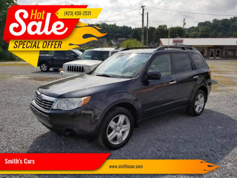 2009 Subaru Forester for sale at Smith's Cars in Elizabethton TN