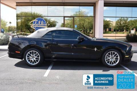 2013 Ford Mustang for sale at GOLDIES MOTORS in Phoenix AZ