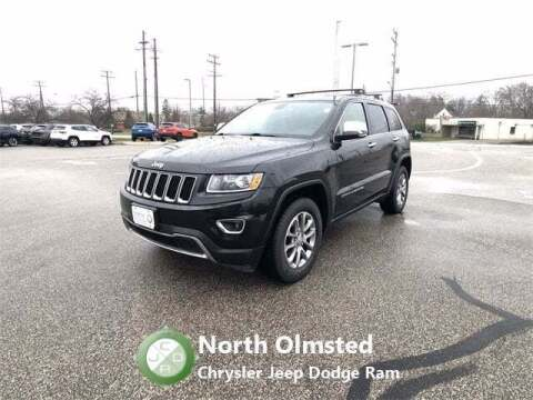 2014 Jeep Grand Cherokee for sale at North Olmsted Chrysler Jeep Dodge Ram in North Olmsted OH