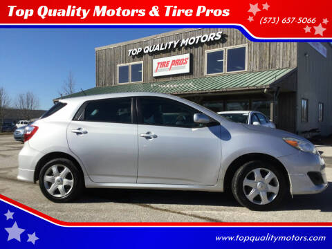 2009 Toyota Matrix for sale at Top Quality Motors & Tire Pros in Ashland MO