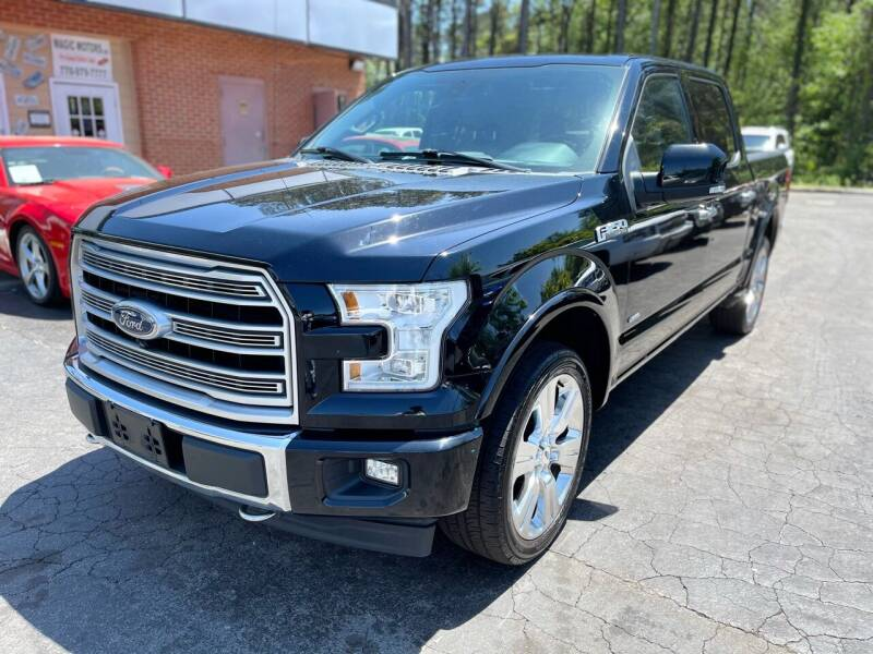 2017 Ford F-150 for sale at Magic Motors Inc. in Snellville GA
