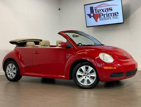 2008 Volkswagen New Beetle for sale at Texas Prime Motors in Houston TX