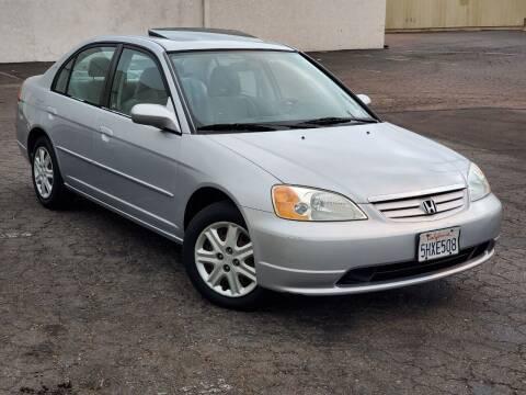 2003 Honda Civic for sale at Gold Coast Motors in Lemon Grove CA
